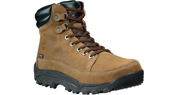 Timberland Rime Ridge - Chaussures d'hiver Homme - Earthkeepers, Mid, WP marron